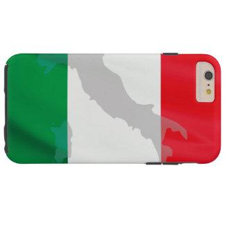 Capas iPhone 6 Plus Tough bandeira e Italia italianas