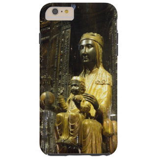 Capas iPhone 6 Plus Tough caixa preta de montserrat do madonna
