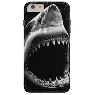 Capas iPhone 6 Plus Tough Caixa preta do iPhone 6 do tubarão