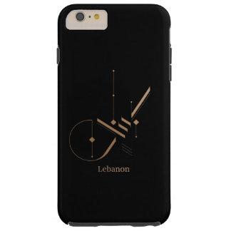 Capas iPhone 6 Plus Tough caligrafia árabe moderna - Líbano