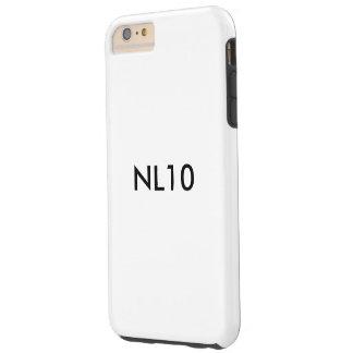 "Capas iPhone 6 Plus Tough Caso do telemóvel de NL10 ""NLight10"" grande"