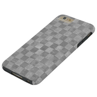 Capas iPhone 6 Plus Tough Caso positivo do iPhone 6 resistentes Checkered do