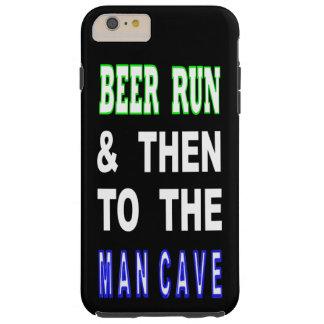 Capas iPhone 6 Plus Tough Cerveja funcionada & então à caverna do homem
