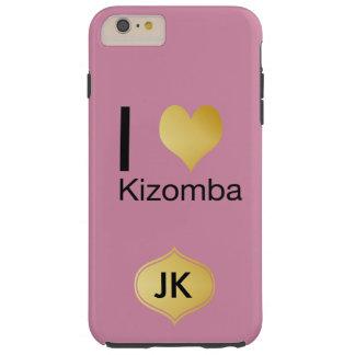 Capas iPhone 6 Plus Tough Coração Playfully elegante Kizomba de I