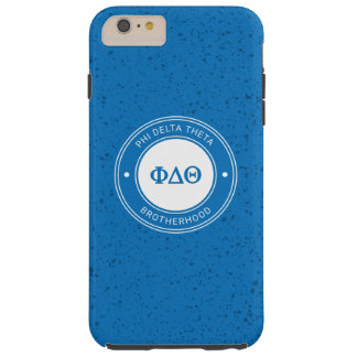 Capas iPhone 6 Plus Tough Crachá da teta | do delta da phi