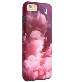 Capas iPhone 6 Plus Tough Design feito sob encomenda da arte do rosa do
