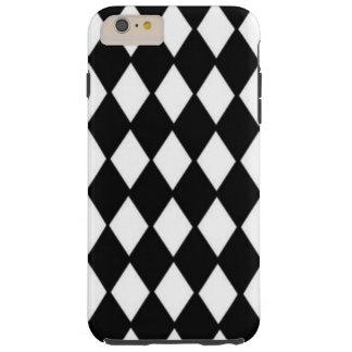 """Capas iPhone 6 Plus Tough Do """"capa de telefone de mármore do teste padrão"""