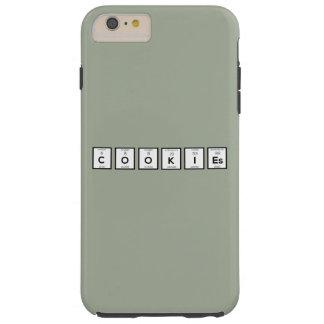 Capas iPhone 6 Plus Tough Elemento químico Z57c7 dos biscoitos
