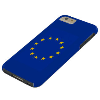 Capas iPhone 6 Plus Tough Europa estandarte