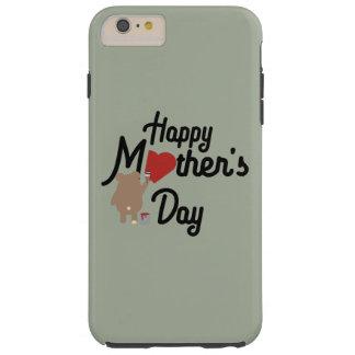Capas iPhone 6 Plus Tough Feliz dia das mães Zg6w3