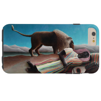 Capas iPhone 6 Plus Tough Henri Rousseau o vintage aciganado do sono