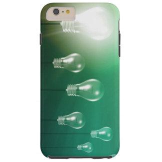 Capas iPhone 6 Plus Tough Inovação criativa e conceito de incandescência