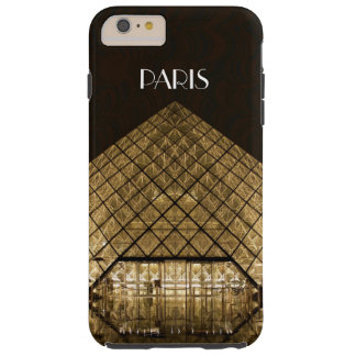 Capas iPhone 6 Plus Tough iPhone 6/6S da pirâmide do Louvre mais o caso