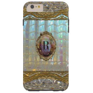 Capas iPhone 6 Plus Tough Monograma 6/6s barroco doce de Veraspeece mais