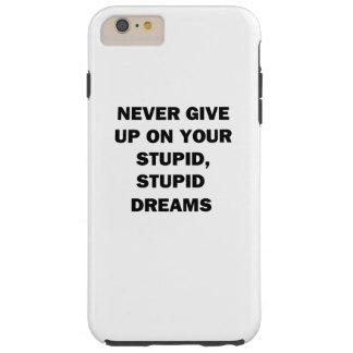 Capas iPhone 6 Plus Tough Nunca dê acima