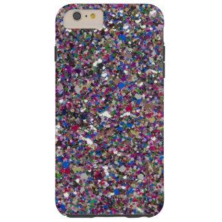 Capas iPhone 6 Plus Tough O brilho feminino Sparkles caso positivo do iPhone