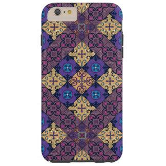Capas iPhone 6 Plus Tough Ornamento de talavera do mosaico do vintage