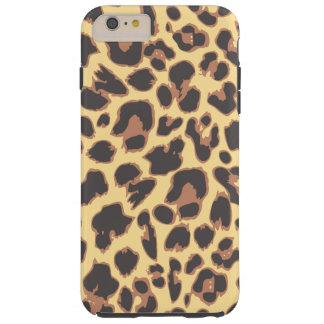 Capas iPhone 6 Plus Tough Padrões da pele animal do impressão do leopardo