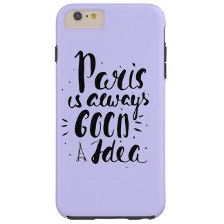 Capas iPhone 6 Plus Tough Paris é sempre uma boa ideia