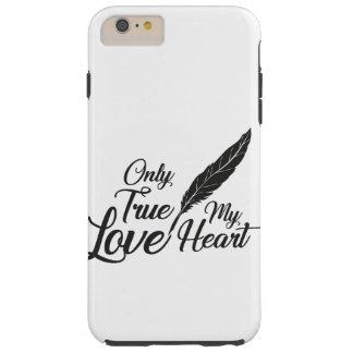 Capas iPhone 6 Plus Tough Pena verdadeira do amor da ilustração