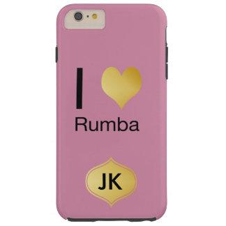 Capas iPhone 6 Plus Tough Playfully o coração elegante de I Rumba