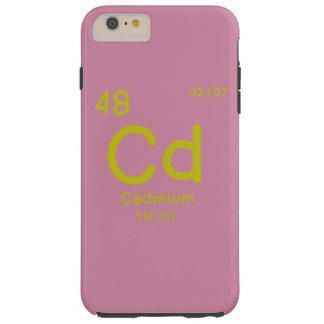 Capas iPhone 6 Plus Tough Química do hipster