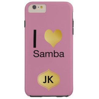 Capas iPhone 6 Plus Tough Samba Playfully elegante do coração de I