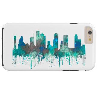 Capas iPhone 6 Plus Tough Skyline de Houston, Texas - selva do SG