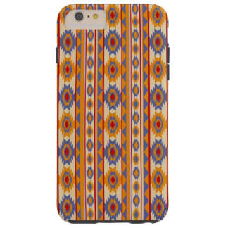 Capas iPhone 6 Plus Tough Teste padrão tribal do navajo do sudoeste