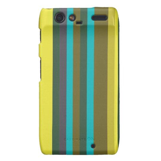 Capas Motorola Droid RAZR Green_stripes