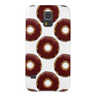 Capas Par Galaxy S5 1 design da rosquinha do chocolate dos desenhos