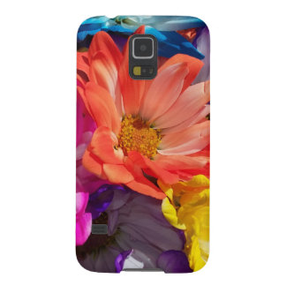 Capas Par Galaxy S5 A explosão Samsung da flor encaixota