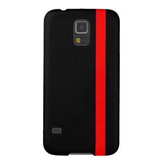 Capas Par Galaxy S5 A linha vermelha fina simbólica em uma decoração