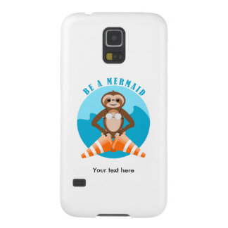 Capas Par Galaxy S5 A preguiça engraçada seja uma sereia