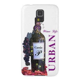 Capas Par Galaxy S5 A vida glamoroso do vinho de uma diva