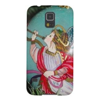 Capas Par Galaxy S5 Anjo do Natal - arte do Natal - decorações do anjo
