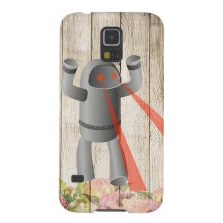 Capas Par Galaxy S5 Ataque do robô