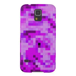 Capas Par Galaxy S5 Caixa da galáxia S5 de Samsung - arte digital roxa