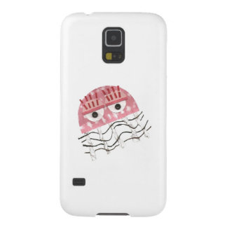 Capas Par Galaxy S5 Caixa da galáxia S5 de Samsung do pente das medusa