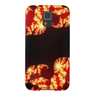 Capas Par Galaxy S5 Caixa da galáxia S5 de Samsung - explosão do fogo