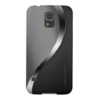 Capas Par Galaxy S5 caixa escura com placa e os parafusos perfurados