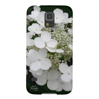 Capas Par Galaxy S5 Caixa floral branca da galáxia 5 de J Spoelstra