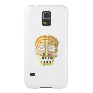 Capas Par Galaxy S5 Caixa musical da galáxia S5 de Samsung do crânio