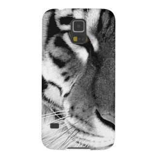 Capas Par Galaxy S5 Cara do tigre - tigre branco - tigre dos olhos -