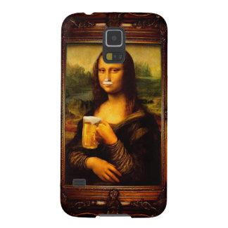 Capas Par Galaxy S5 Cerveja de Mona lisa - de Mona lisa - lisa-cerveja