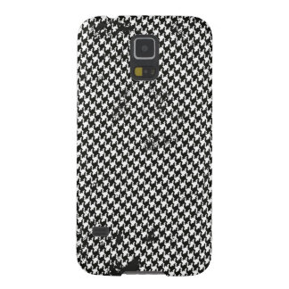 Capas Par Galaxy S5 Design sem emenda do houndstooth