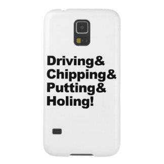 Capas Par Galaxy S5 Driving&Chipping&Putting&Holing (preto)