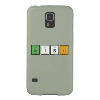 Capas Par Galaxy S5 Elementos químicos irlandeses Zy4ra