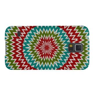 Capas Par Galaxy S5 Flor mandalaic hipnótica