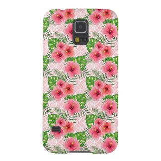 Capas Par Galaxy S5 Flores do hibiscus